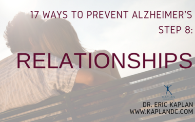 17 Ways to Prevent Alzheimer's – Step 8: Relationships