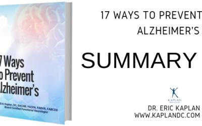 17 Ways to Prevent Alzheimer's – Summary