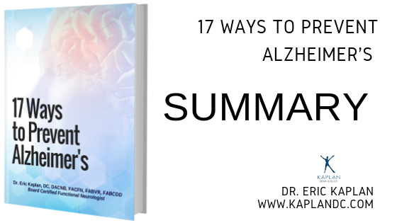 17 Ways to Prevent Alzheimer's – Summary