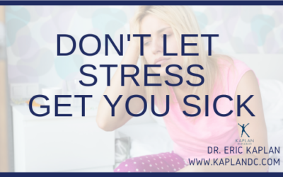 Don't Let Stress Get You Sick