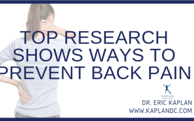 Top Research Shows Ways to Prevent Back Pain