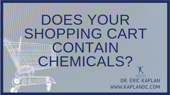 Does Your Shopping Cart Contain Chemicals?