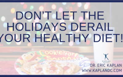 Don't Let the Holidays Derail your Healthy Diet!